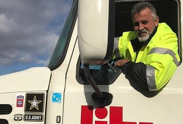 military veteran truck driving career