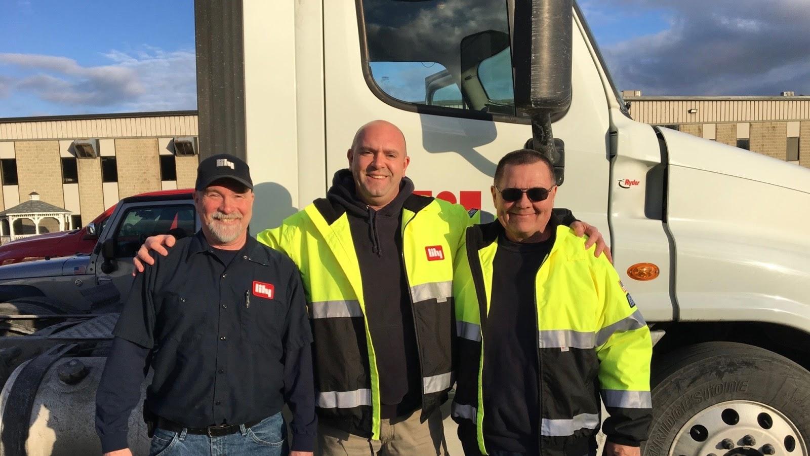 OTR trucking - Lily drivers
