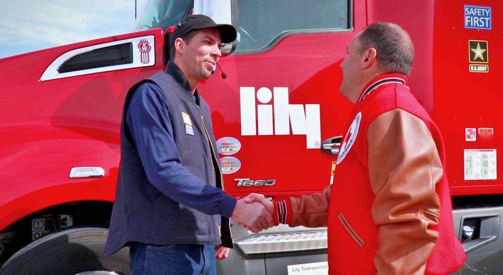OTR trucking - Lily