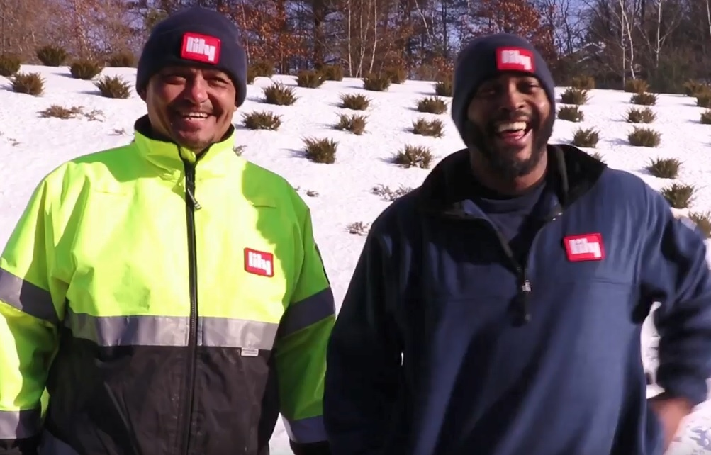 happy OTR team truck drivers